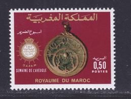 MAROC N°  776 ** MNH Neuf Sans Charnière, TB (D7850) Semaine De L'aveugle - 1976 - Morocco (1956-...)