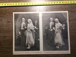 ANNEES 20/30 MARIAGE DE SEGARD DESTAILLEURS PAIN - Collections