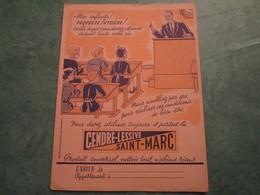 CENDRE-LESSIVE SAINT-MARC - Copertine Di Libri