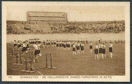 1928 Amsterdam Olympics Official Postcard 110 Dutch Ladies Gymnastics Team - Olympic Games