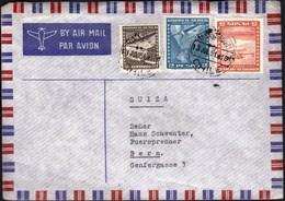Chile Santiago 1951 / Airplane / Air Mail - Chili