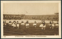 1928 Amsterdam Olympics Official Postcard 109 Hungary Gymnastics - Olympic Games