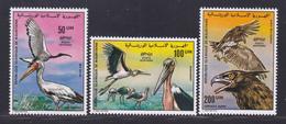 MAURITANIE AERIENS N°  172 à 174 ** MNH Neufs Sans Charnière, TB (D7851) Oiseaux - 1976 - Mauritania (1960-...)