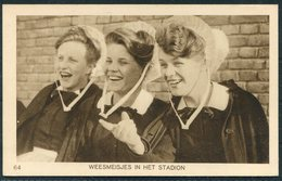 1928 Amsterdam Olympics Official Postcard 64 - Olympic Games