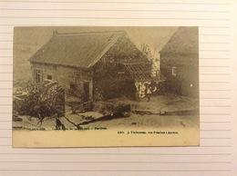 -postkaart, Leuven Bertem Na De Overstroming, Gelopen 1906, Zegel 1 Cent Nr, 53 - Leuven