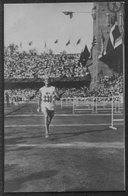 1912 Sweden Stockholm Olympics Official Postcard 212. Jacobsson Marathon - Olympic Games