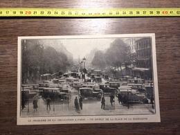 ANNEES 20/30 PROBLEME DE CIRCULATION A PARIS PLACE DE LA MADELEINE - Collections