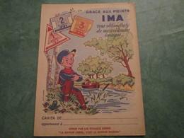 Grace Aux Points IMA Vous Obtiendrez De Merveilleuses Images....(offert Par Les Potages LIEBIG) - Protège-cahiers