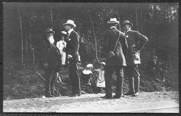 1912 Sweden Stockholm Olympics Official Postcard 14. Crown Prince, Shooting, Kamrer Swahn - Olympic Games