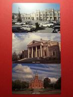 CHELYABINSK 3 First Card Street Theatre Cathedral URMET MINT NEUVE RUSSIE URSS (BI1216) - Russia