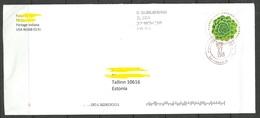 USA 2018 Cover To Estonia - Briefe U. Dokumente