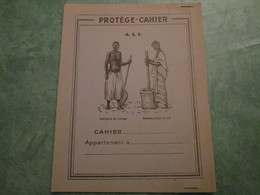 A.E.F. - Offert Par Le Sirop Framboisé GADUASE - Protège-cahiers