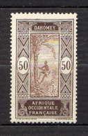 DAHOMEY - 55* - PALMISTE - Dahomey (1899-1944)