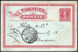 Chile Valparaiso 1905 / Postal Stationery 2 Centavos - Chili