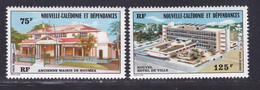 NOUVELLE CALEDONIE AERIENS N°  174 & 175 ** MNH Neufs Sans Charnière, TB (D7854) Hotel De Ville - 1976 - Poste Aérienne