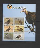 Malawi 2018 Vultures Of Africa Sheetlet MNH - Malawi (1964-...)