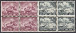 DR 841-842, Postfrisch **, 4erBlock, Wehrmacht 1943 - Allemagne