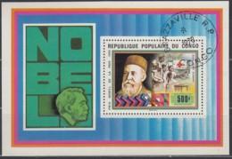 KONGO-BRAZZAVILLE Block 16, Gestempelt, Nobelpreisträger Henri Dunant 1978 - Congo - Brazzaville