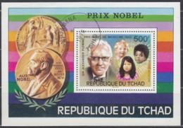TSCHAD Block 67, Gestempelt, Nobelpreisträger Alexander Fleming 1976 - Chad (1960-...)