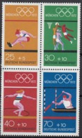BRD  Heftchenblatt 22, Postfrisch**, Olympische Sommerspiele, München 1972 - [7] République Fédérale