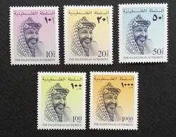 Palestinian Authority 1996 Pres. Yasser Arafat - Palestine