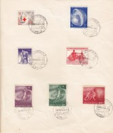 Chile Santiago 13 May 1964 / Especies / Football, Fire, Airplane, FAO, Red Cross - Chili