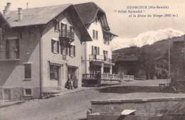 74 - COMBLOUX : HOTEL SPENDID Et Le Dôme Du Miage - CPA - Haute Savoie - Combloux