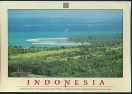 °°° GF 584 - INDONESIA - LAGUNDRI BEACH - With Stamps Thailand °°° - Indonesia