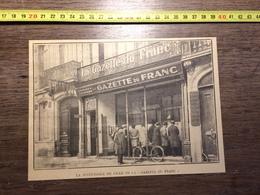 ANNEES 20/30 SUCCURSALE DE LILLE DE LA GAZETTE DU FRANC - Collections