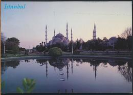 °°° GF 587 - TURKEY - ISTANBUL - THE BLUE MOSQUE - 1996 With Stamps °°° - Turchia