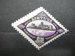 Lietuva Litauen Lituanie Litouwen Lithuania  - Memel # 1923 MNH # Mi. 202 25centai - Lituanie