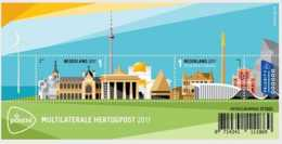 2017 Netherlands -HERTOGPOST 2017, 's-Hertogenbosch Joint Issue With Luxembourg MSMNH** MI B 171 (oa) - Gemeinschaftsausgaben