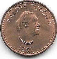 *tonga 1 Senti 1967 Km 4  Bu - Tonga