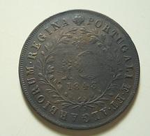 Portugal Açores 10 Reis 1843 - Portugal