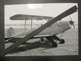 76 - Yvetot - Baons Le Comte -- Photo Originale - Avion Bûcker BU 13 - Jugmann Aéroclub Lucien Camu - TBE - - Aviation