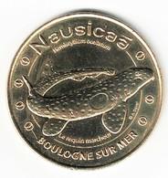 Monnaie De Paris 62.Boulogne Sur Mer - Nausicaa  Requin Marcheur 2014 - Monnaie De Paris