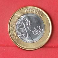 BRAZIL 1 REAL 2015 - RIO 2016     - (Nº26904) - Brésil