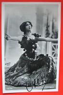 La Belle OTERO Femme Courtisane Actrice Photo REUTLINGER Fac Similé Signature - Dance