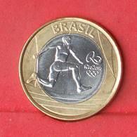 BRAZIL 1 REAL 2014 - RIO 2016     - (Nº26907) - Brésil