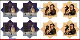 Ref. BR-V2018-161Q BRAZIL 2018 - CHRISTMAS, 200 YEARS OF, �SILENT NIGHT� SONG, BLOCKS MNH,8V - Unused Stamps
