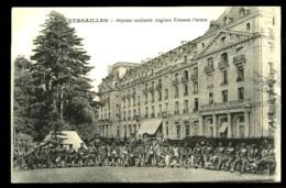 VERSAILLES - Hôpital Militaire Anglais Trianon Palace (Superbe Plan Animé) - Versailles
