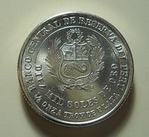 Peru 10000 Soles ???? 1/2 Oz Silver - Pérou