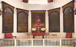 "BOSTON - Chancel Of ""Oln North Church"" Of Paul Revere Fame, Salem Street - Boston"