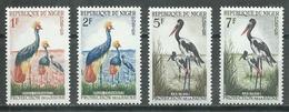 Niger YT N°97-98-99-100 Grue Couronnée Et Jabirus Neuf/charnière * - Niger (1960-...)