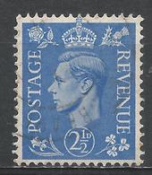 Great Britain 1941. Scott #262 (U) King George VI * - 1902-1951 (Rois)