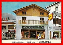 CPSM/gf ANDORRA LA VELLA (Andorre)  Avinguda Meritxell. Pub Shell...I0218 - Andorre