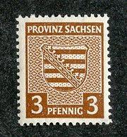 W-10049 Sachsen Mi.#74X** ( .30€ )  Offers Welcome-over 61000 Items! - Sowjetische Zone (SBZ)