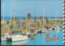°°° GF 598 - CUBA - LA HABANA - MARINA HEMINGWAY - 2000 With Stamps °°° - Postcards