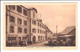 CARANTEC.  Cpa  Sépia - Hotel Du Bon Accueil   (scans Recto-verso) - Carantec