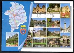 Le CHER Multi-Vues + Le Printemps De Bourges 2011 Carte PUB Neuve - France